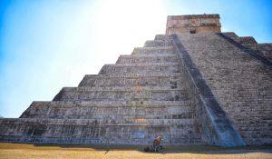 Ve las grandiosas pirámides en Cancun