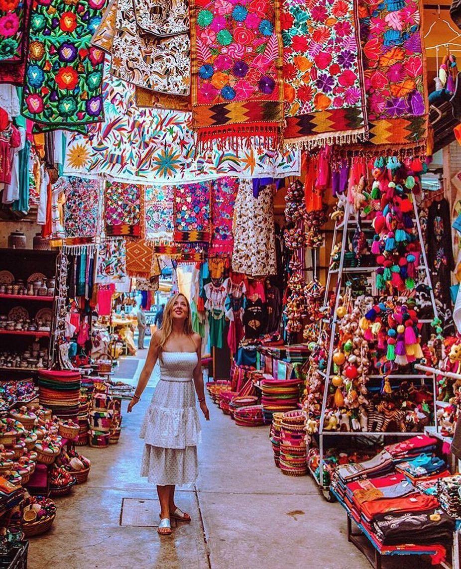 Ciudadela Market in mexico