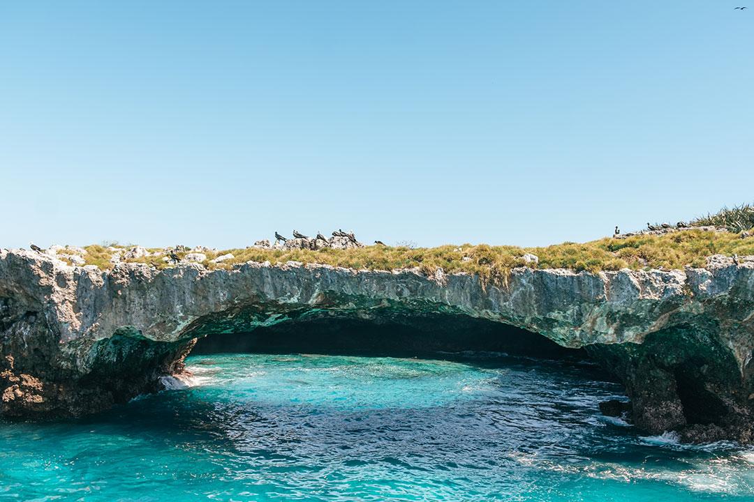 Beautiful Marietas Island in Puerto Vallarta