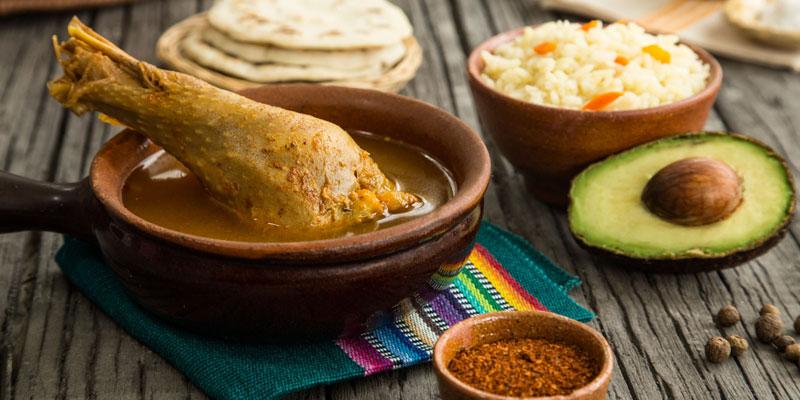 Delicious Guatemalan food
