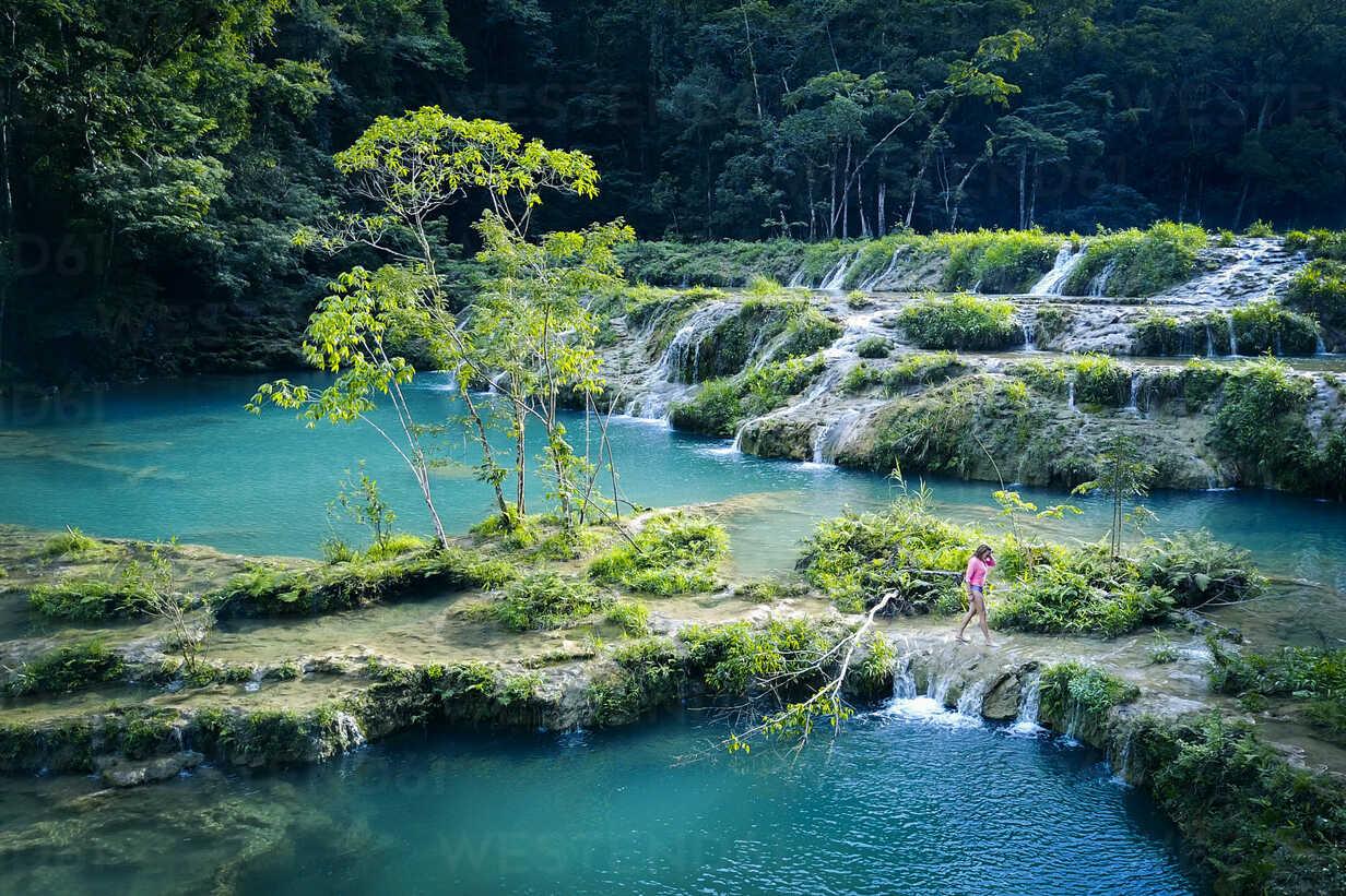 Scenery of Semuc Champey, Guatemala